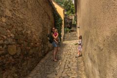Trebic, narrow street