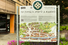 Trebic, information board