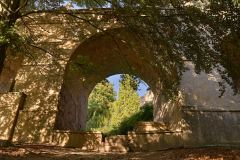Arch in the castle