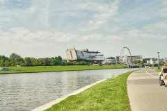 Cracow Vistula river