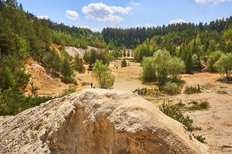 Rudice sand quarry