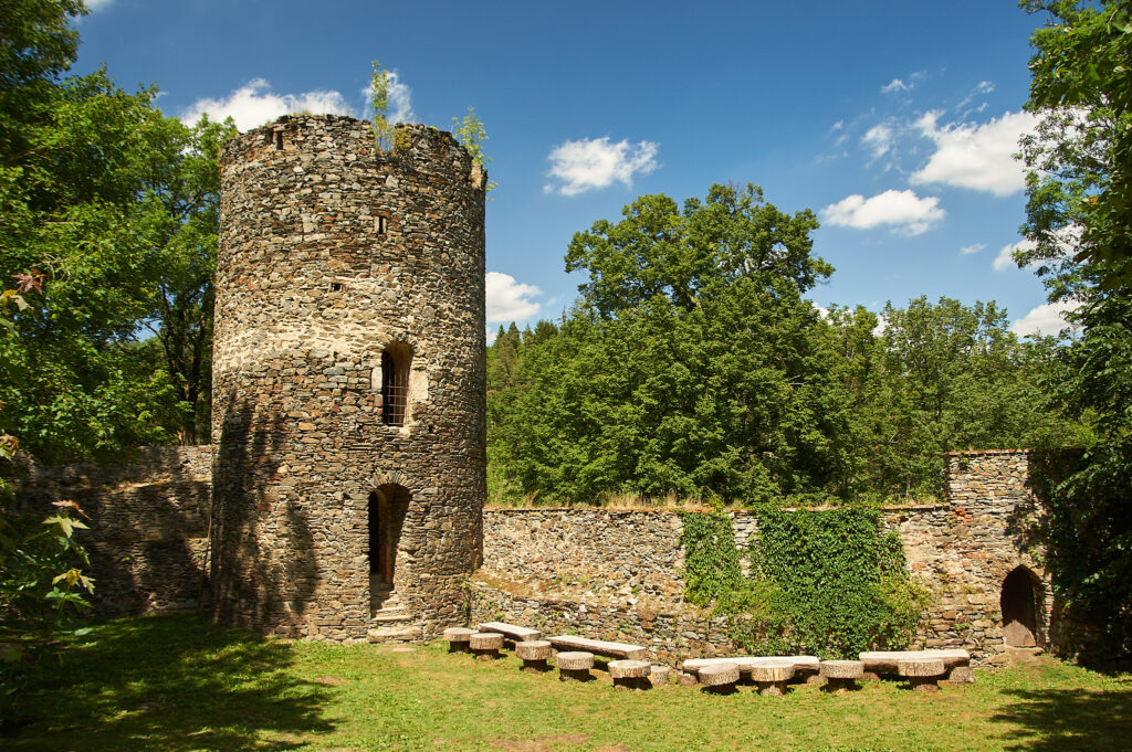 Bitov Castle Garden