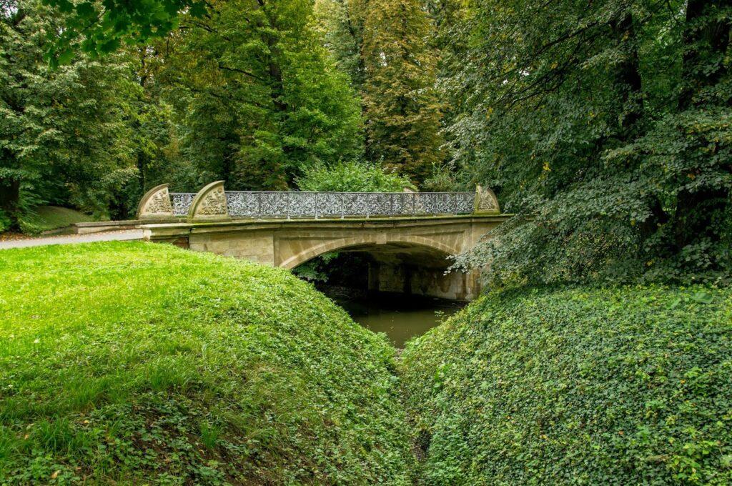 Chateau garden Kromeriz