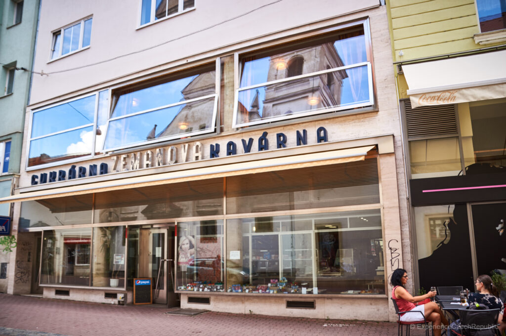The oldest cake shop in Brno