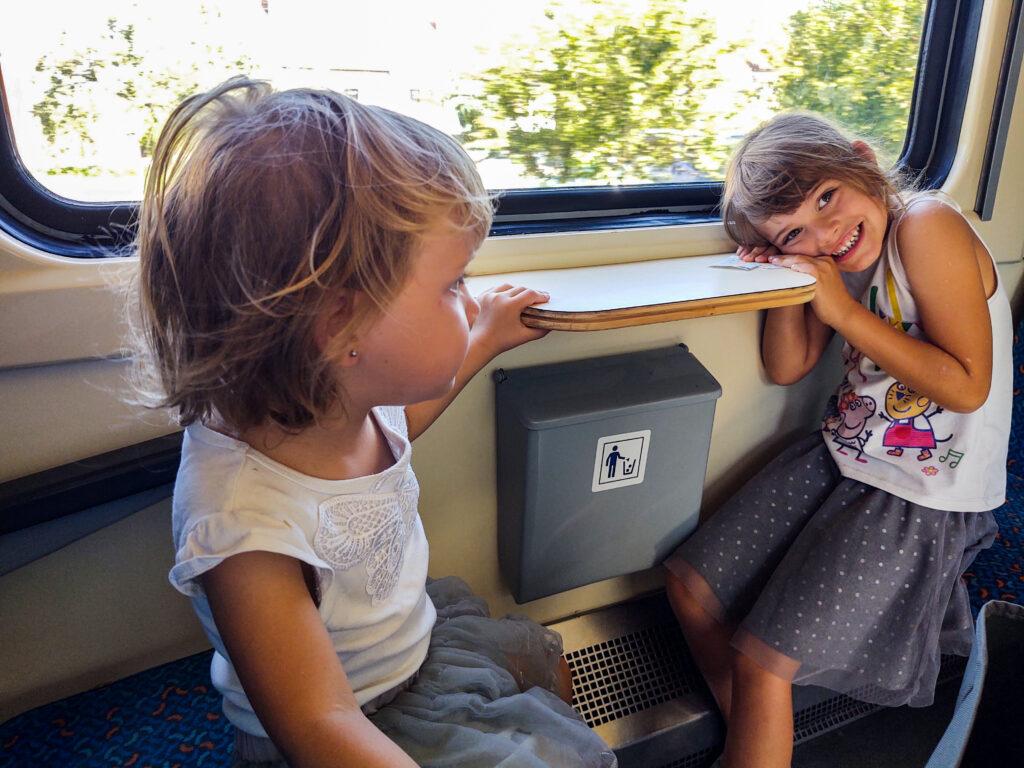 Slavkov train trip