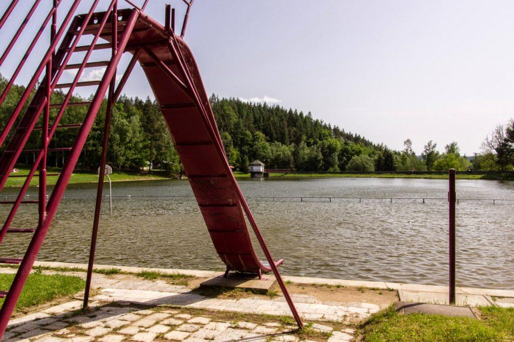 Palava lake on the way