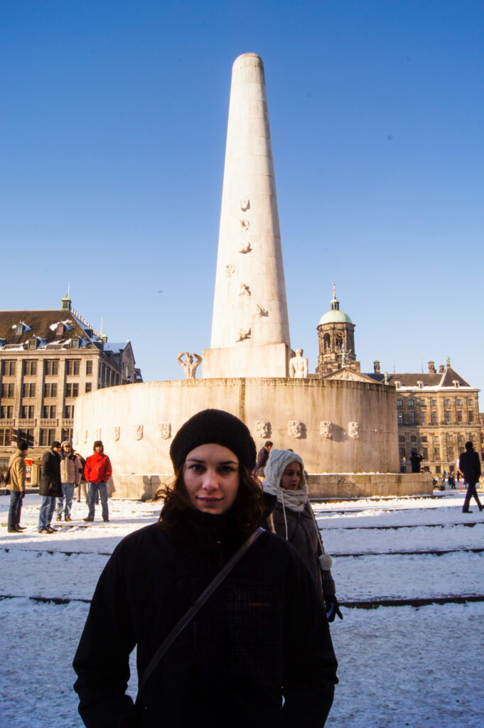 Me on the Dam Square