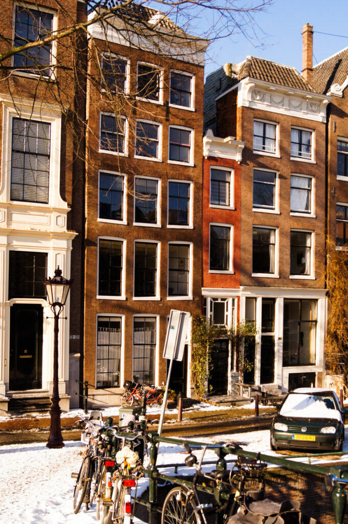 The narrowest building in Amsterdam