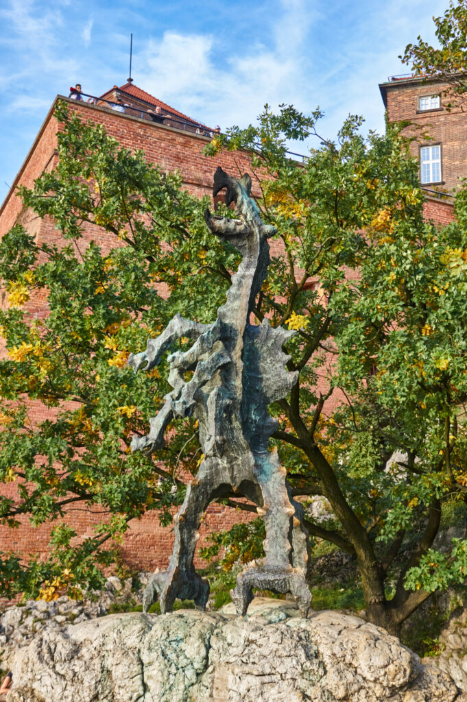 Dragon at the Wawel Castle
