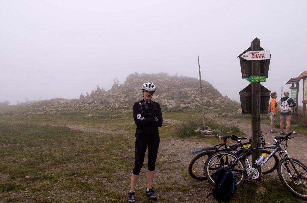 Kralicky Sneznik - the summit